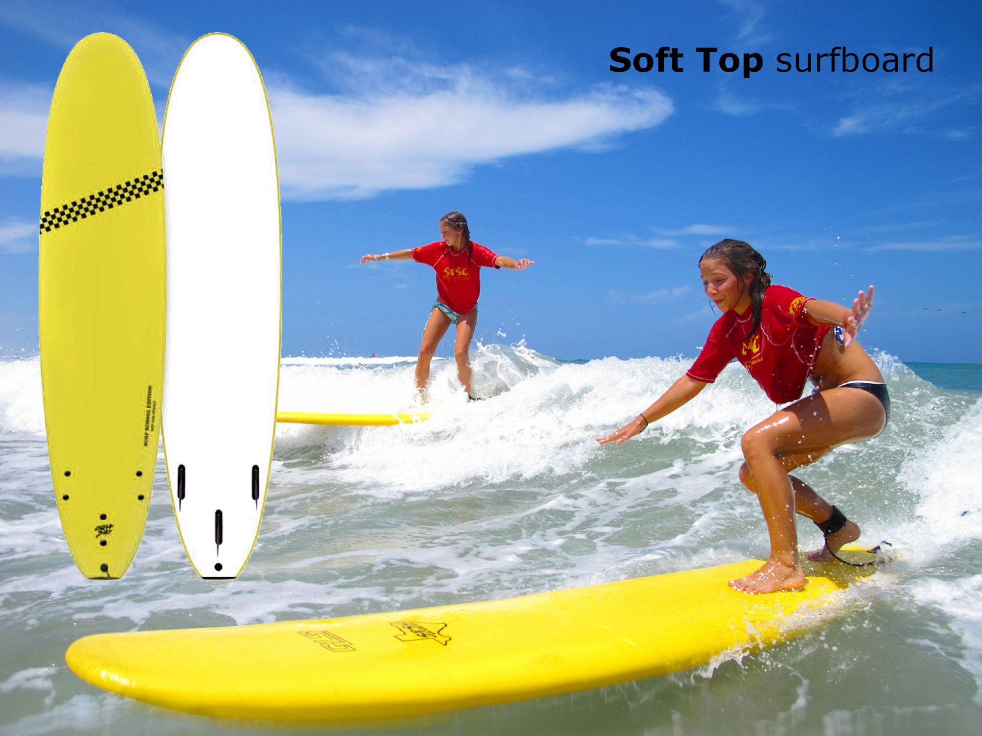 soft top surfboard